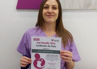 Certificación Cat Friendly Clinic